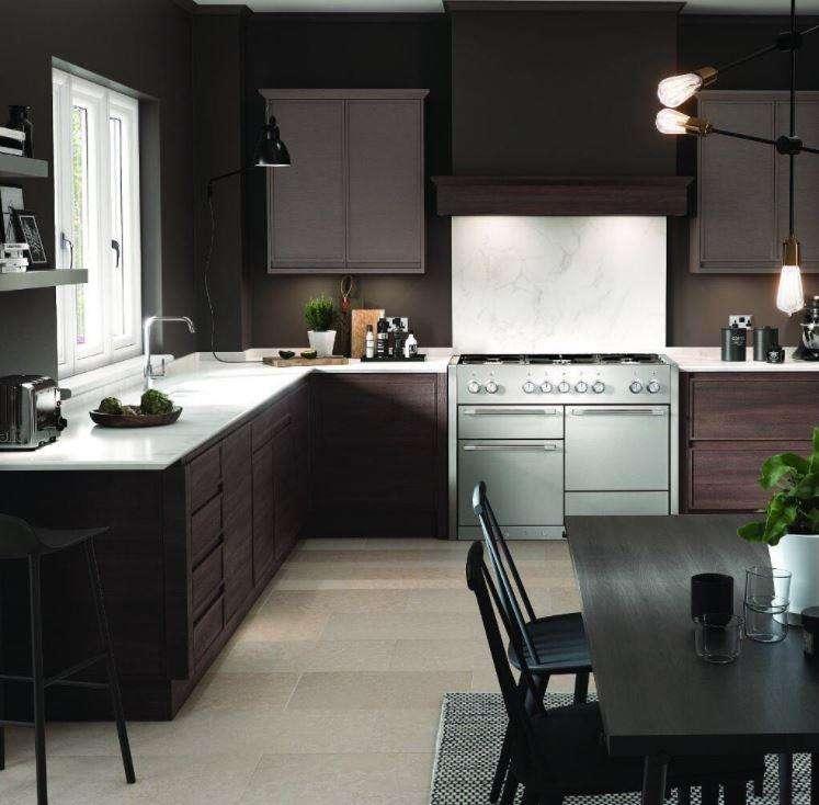 cozinha refinada e moderna